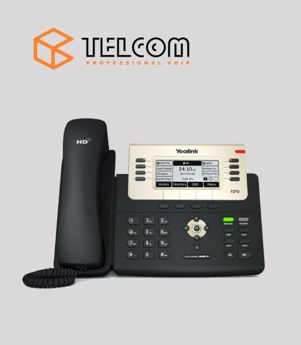 IP-телефон Yealink SIP-T27G Telcom