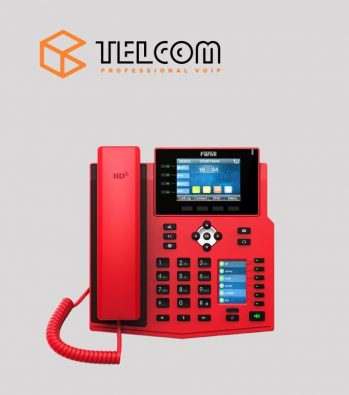 IP-телефон Fanvil X5 красный